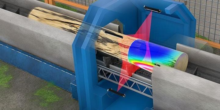 LMI blog: Optimization in the wood industry with 3D laser scanning - Part 1